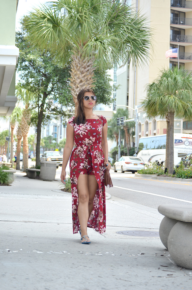 Wearing: Jumpsuit/Enterizo: StayingSummer Sandals/Sandalias: Aeropostale