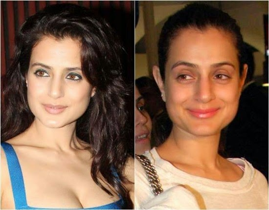 Amisha Patel without Makeup