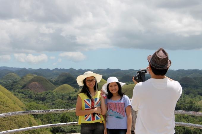 Bohol Suklaakukkulat eli Chocolate Hills, Filippiinit
