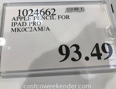 Apple Pencil for iPad Pro (MK0C2AM/A) | Costco Weekender