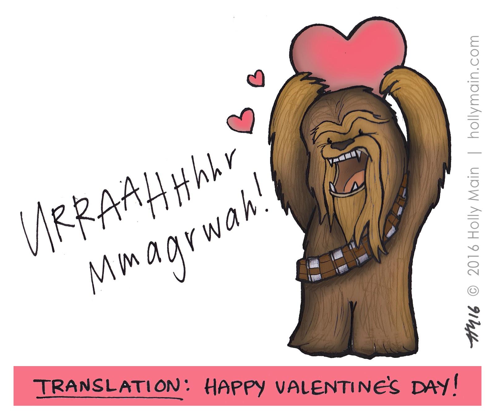 Holly main comic illustration blog my chewie valentine my chewie valentine voltagebd Choice Image