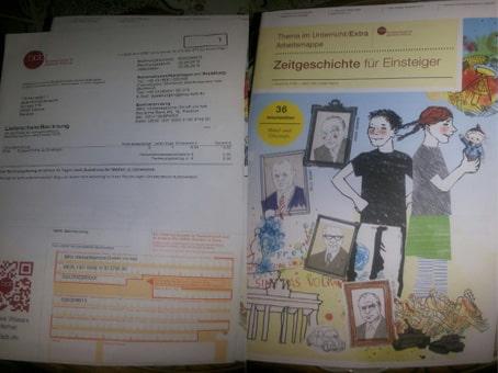 اثبات وصول مجلة من المانيا للمرة الثانية سارع! وتوصل بها أنت أيضاً