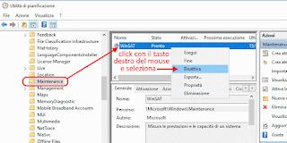 Disattivare WinSAT in Windows 10