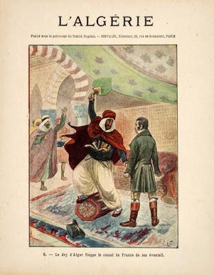 Couverture de cahier, collection L. Geisler, l'Algérie N°6, 1895 (collection musée)