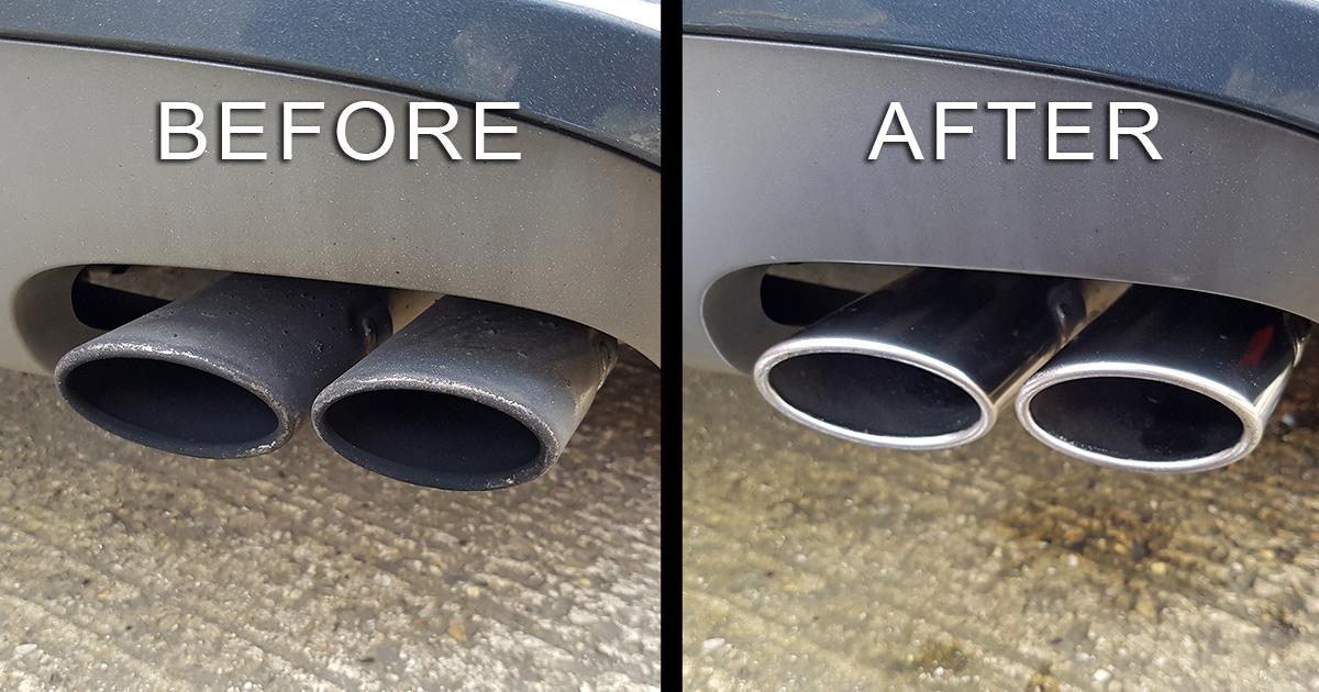 How To Clean Audi Exhaust Tips