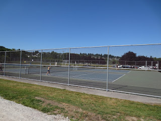 Jericho Beach Tennis Courts Vancouver, BC