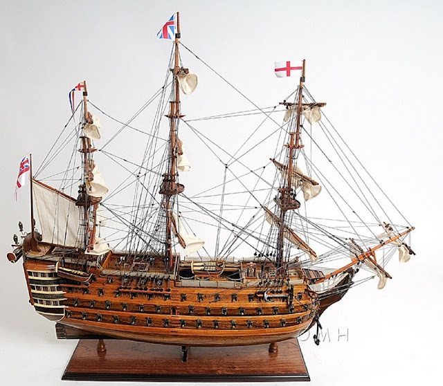 HMS Victory Ship Model Replica