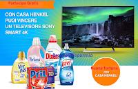 Logo Vinci gratis un  televisore Sony Smart 4K