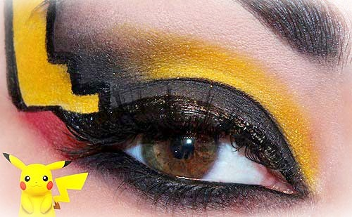 10 Maquillajes de ojos inspirados en Pokemon go que querrás cazar ya mismo :