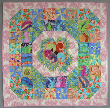 Nesting Quilt by Denise A Buchwalter-Losczyk, copyright 2006