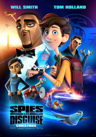 Spies in Disguise 2019 BRRip 720p Dual Audio In Hindi English