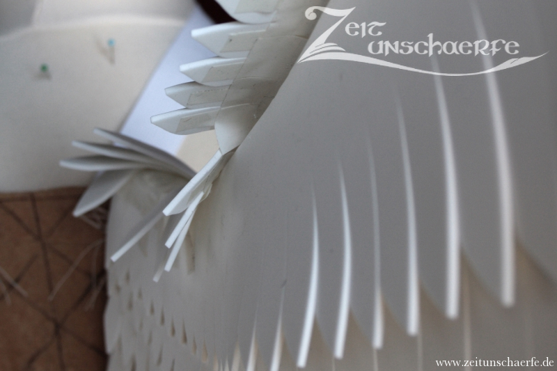 zeitunschaerfe steampunk perlenkunst engelsfl gel. Black Bedroom Furniture Sets. Home Design Ideas