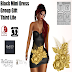 T.B.O.M - BLACK MINI DRESS / THIRDLIFE EXCLUSIVE GIFT
