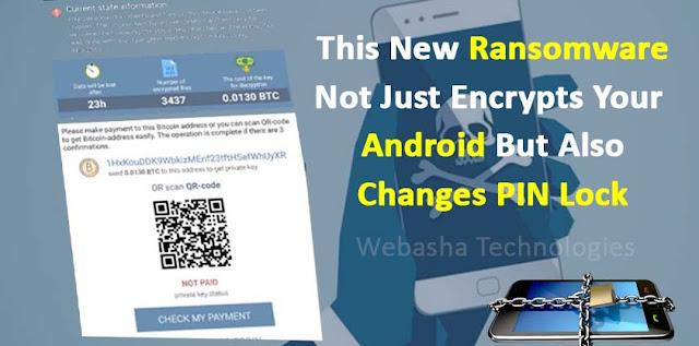 Double Locker Ransomware Baru Targetkan Ponsel Android