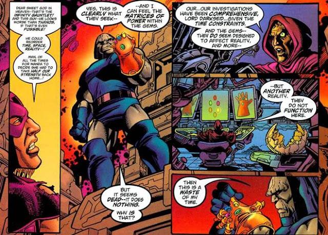 Para Pemegang Infinity Gauntlet Selain Thanos, darkseid infinity gauntlet