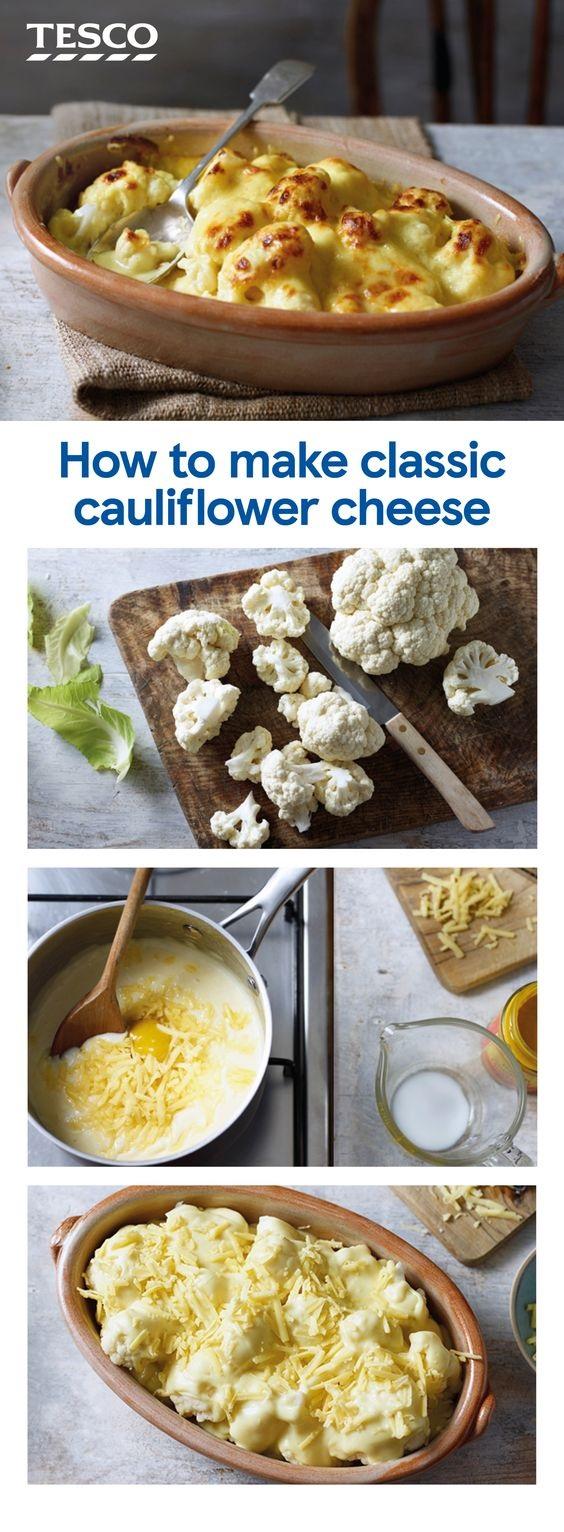 How To Make Cauliflower Cheese