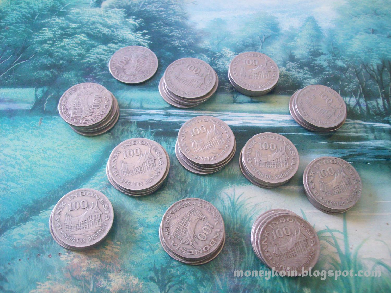 KOLEKSI UANG KUNO Koin 100 Rupiah 1978 Tipis
