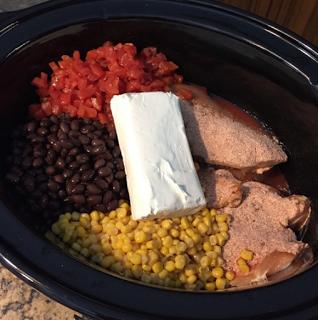 Fiesta Chicken Crockpot