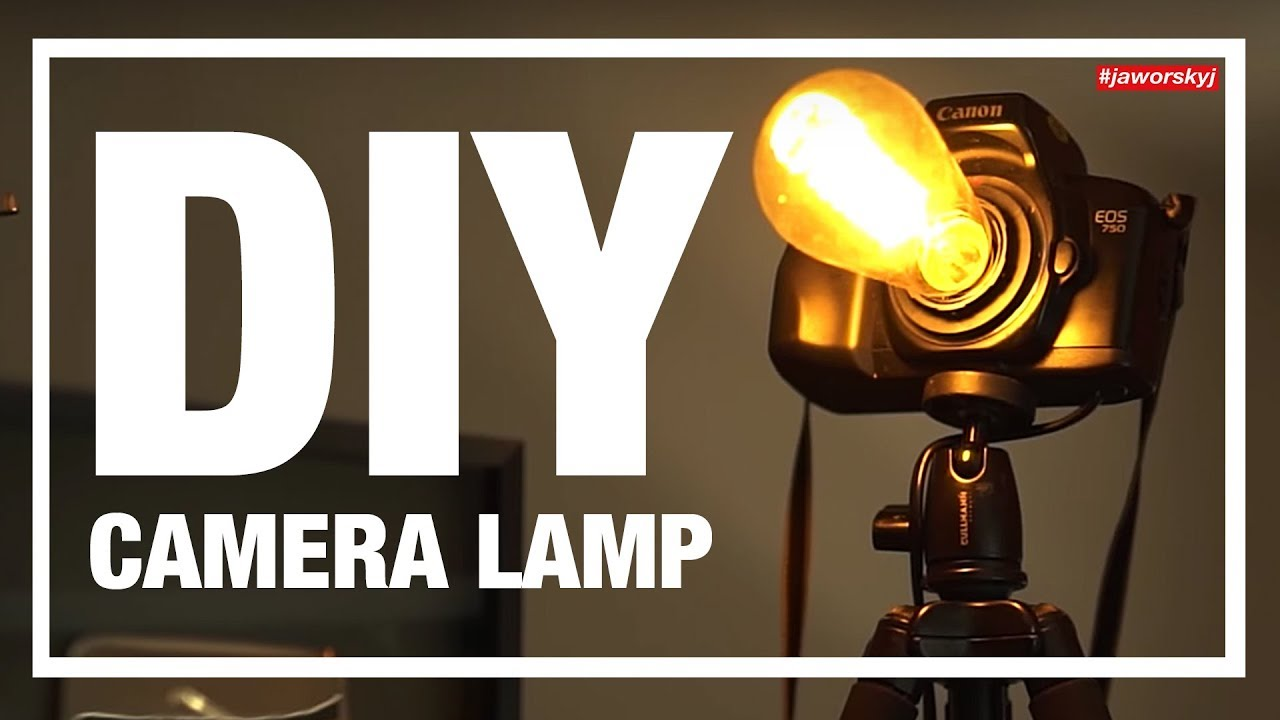 Build your own DIY CAMERA LAMP