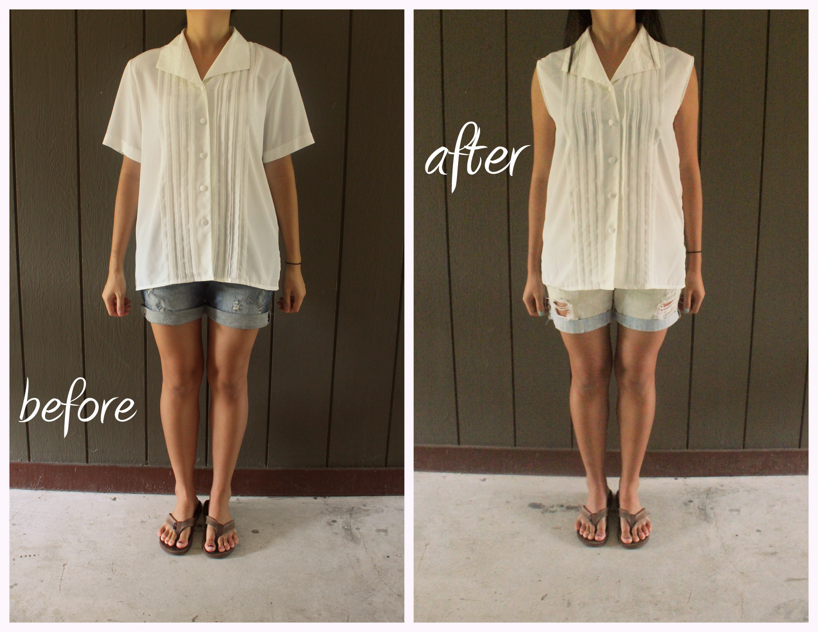 49 Dresses Old Pleated Shirt Refashion