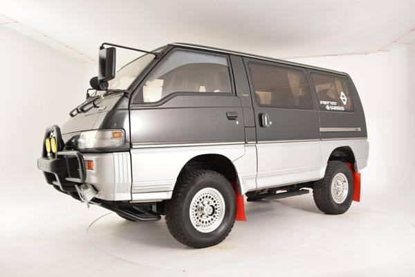 1991 Mitsubishi Delica 4x4 Diesel Van