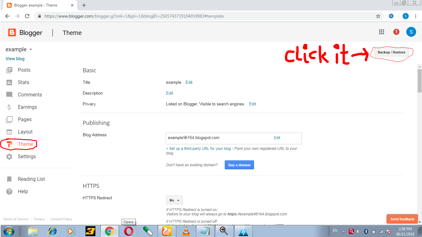 How To Upload Template In Blogger Change Template In Blogger