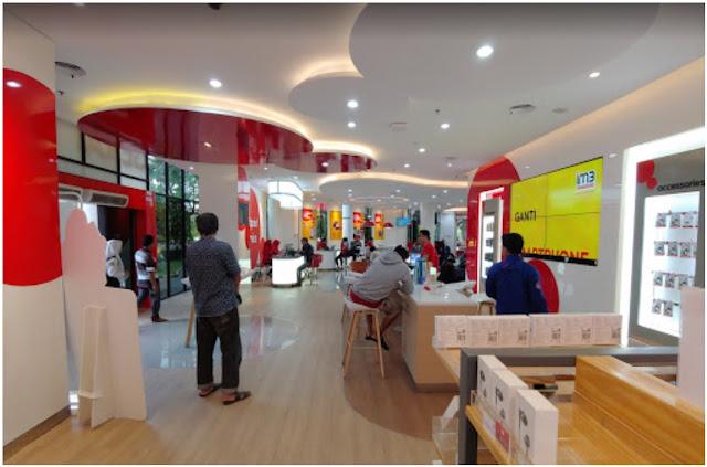 Gerai Indosat Kayoon Surabaya