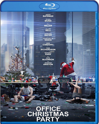 Office Christmas Party [2016] [BD50] [Latino] [Unrated]