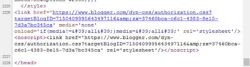 css Blogger 2