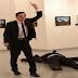 BREAKING NEWS: Horror as Russian ambassador to Turkey is shot dead in art exhibition in Ankara by well-dressed gunman screaming: 'Allahu Akbar... We die in Aleppo, you die here'