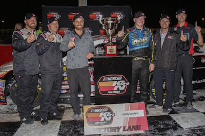 Tyler Dippel Wins in First K&N Pro Series East Race with DGR-Crosley #NASCAR