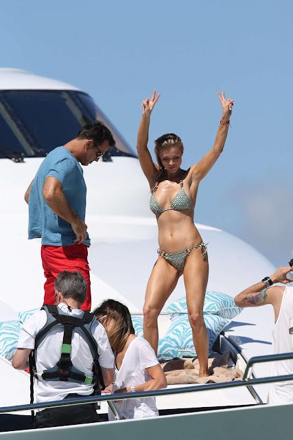Joanna Krupa in Bikini in Miami