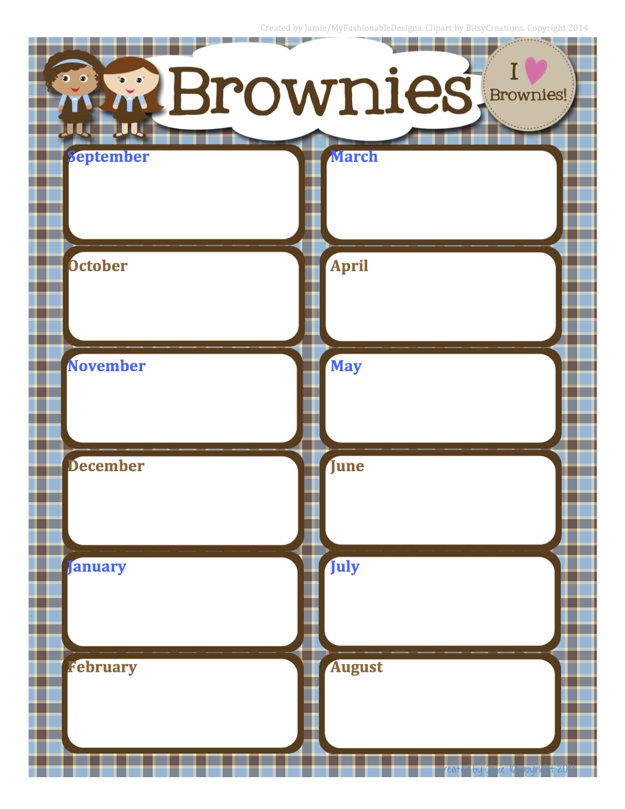 My Fashionable Designs Girl Scouts Free Brownies