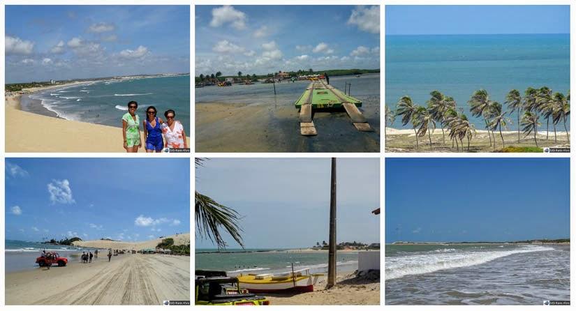 O que fazer em Natal - praias de Genipabu, Barra do Rio, Pitangui, Jacumã e Maracajaú