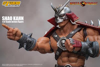 "Shao Kahn 1/12 Scale Action Figure de ""Mortal Kombat"" - Storm Collectibles"