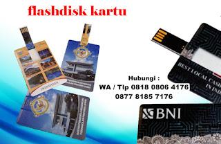Jual Flashdisk Kartu – Bisa Cetak Custom