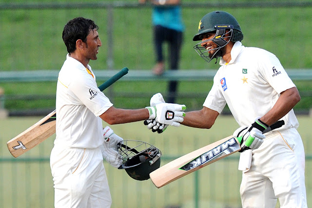 Younis Khan and Shan Masood