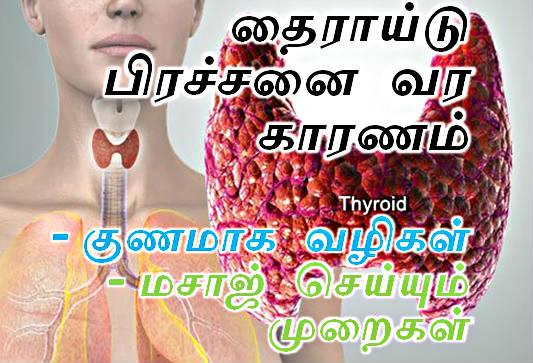 தைராய்டு பிரச்சினை குணமாக மருத்துவர் ஆஷா லெனின் டிப்ஸ்.  Thyroid tips in tamil, Kunamaga Maruthuvam, Massage