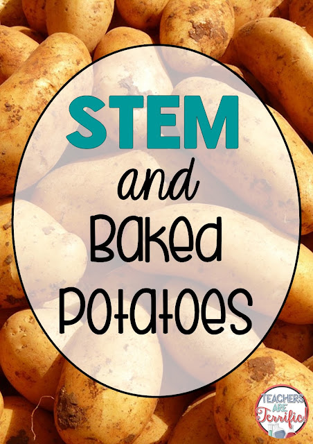 STEM Project! This is a big one! It's all about baked potatoes and a delivery company. Kids invent a company, create the marketing, design a delivery box, and then share their ads! Total fun and so much learning! Check this blog post!