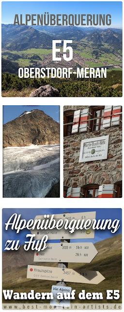 Alpenüberquerung-zu-fuss Oberstdorf-meran e5
