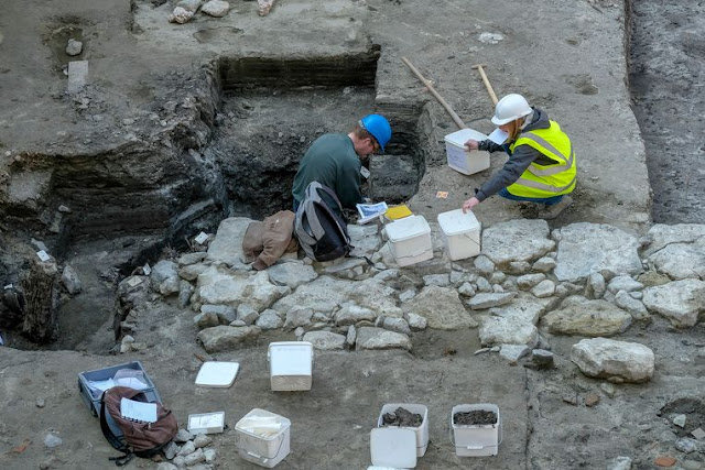 Archaeologists find 10th century settlement under former parking site in Brussels