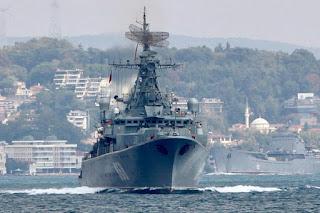 AS Ancam Serang Suriah, Rusia Kirim 10 Kapal Perang