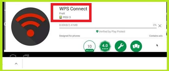 WPS Connect Untuk Bobol Wifi