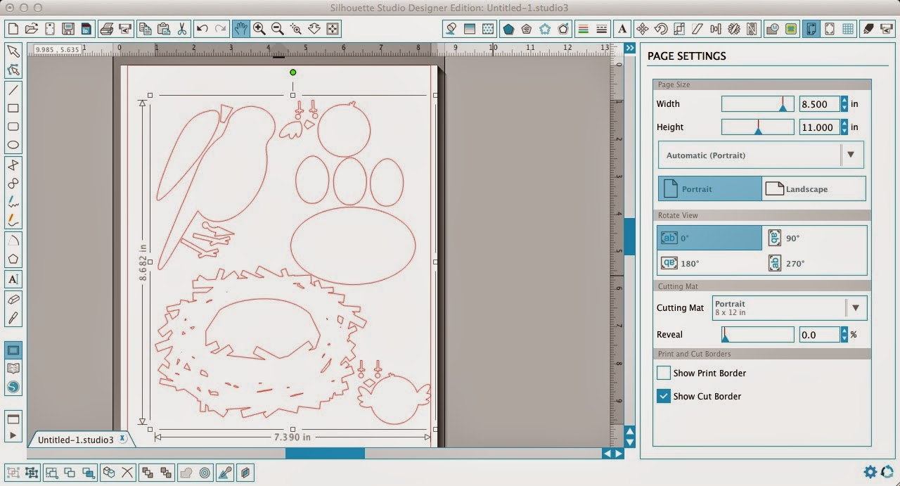 Silhouette Studio, restore, original color, Silhouette Store, design, Silhouette tutorial