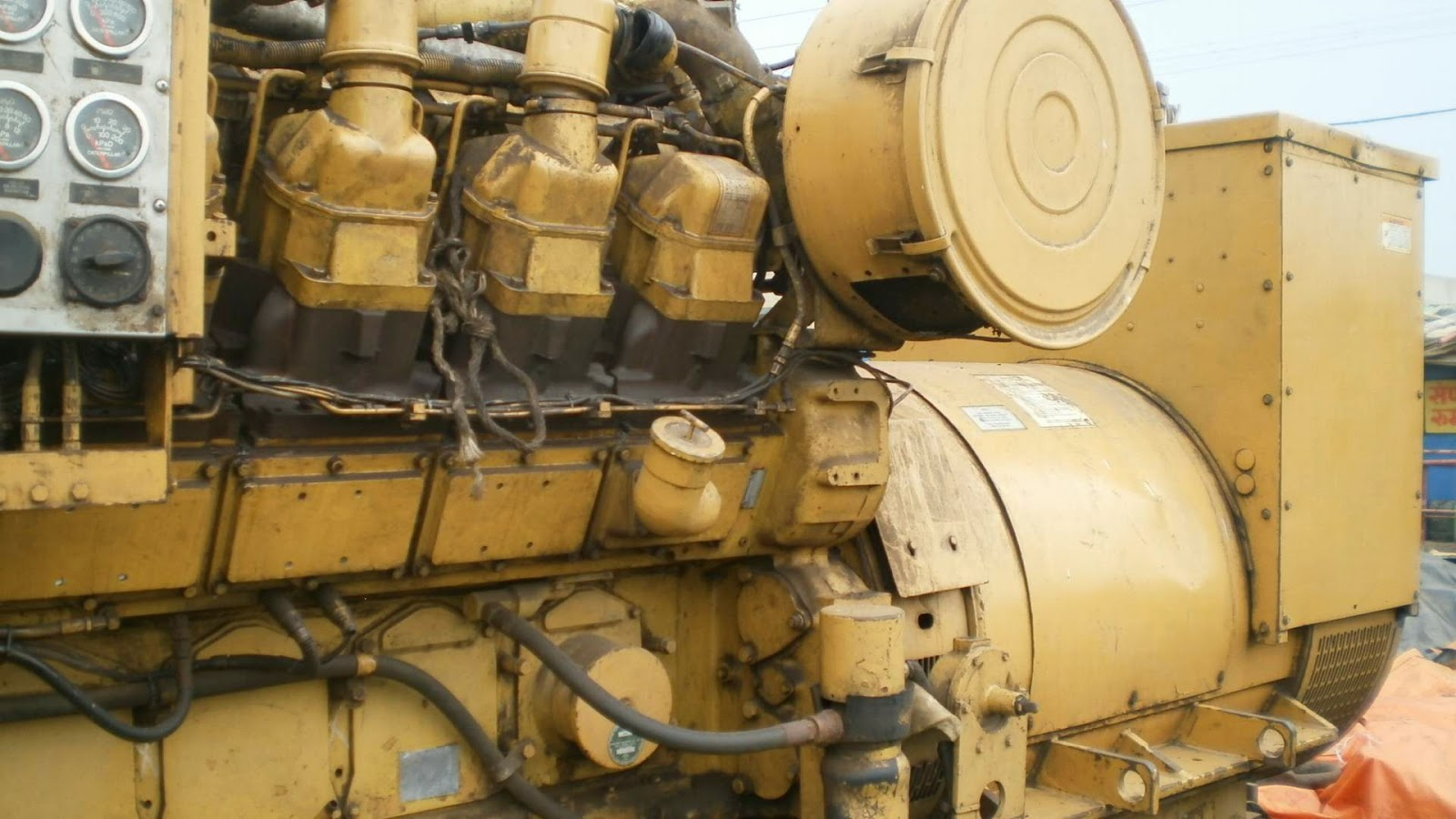 CAT 3512, Caterpillar Industrial Diesel Generator, 1250 KVA Diesel Generator for Sale, 1500 RPM CAT, 50 Hz