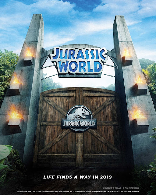 "New ""Jurassic World Ride"" attraction transformation coming to Universal Studios Hollywood in 2019"
