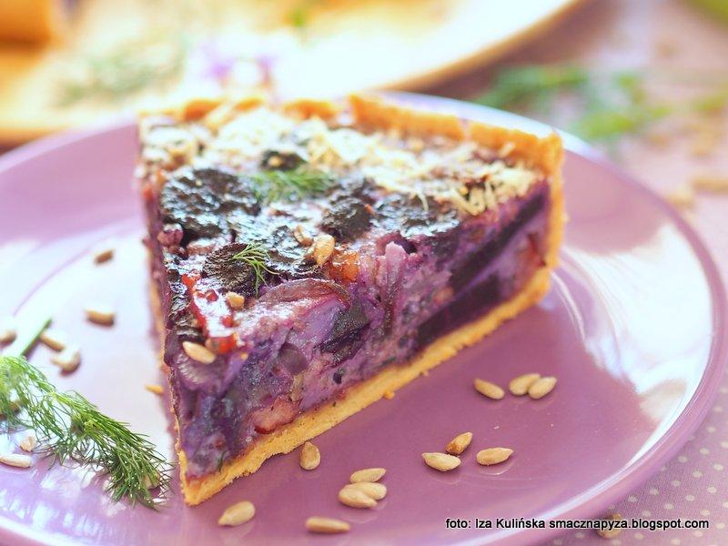 czarna marchew, korzenie marchwi, marcheweczka, zdrowa, zapiekanka, warzywo, fiolet, pyszny obiad,