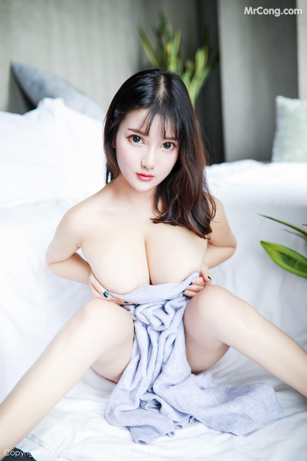 Image XIUREN-No.1274-Xiao-You-Nai-MrCong.com-009 in post XIUREN No.1274: Người mẫu Xiao You Nai (小尤奈) (42 ảnh)