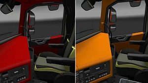 Multi-Color interiors pack for Volvo 2012