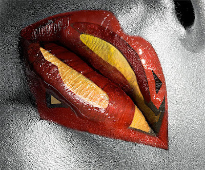 Coolest Superhero Lips Seen On www.coolpicturegallery.us